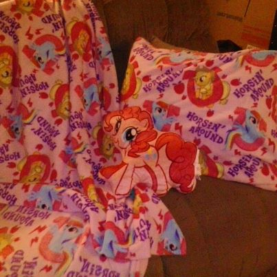mlp friendship is magic blanket pillowcase the survivals of jewels